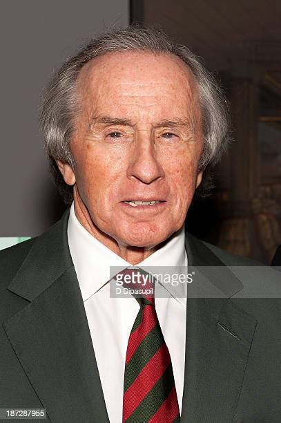 Sir Jackie Stewart attends the 'Weekend Of A Champion' Premiere To Save Project The 11th MOMA International Festival Of Film Preservation at Museum...
