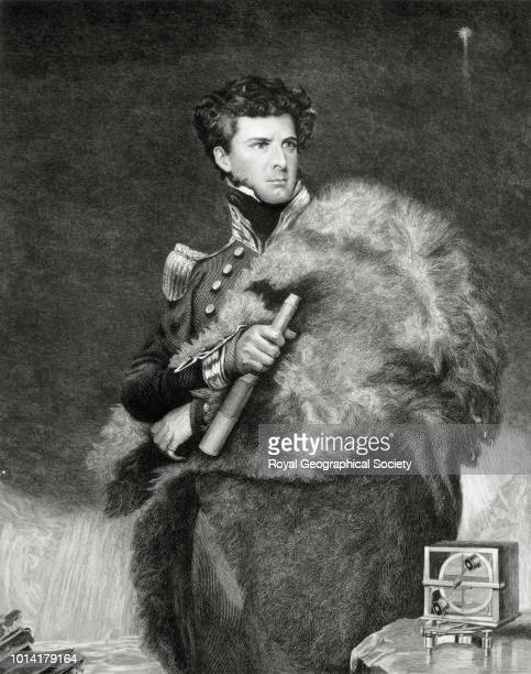 Sir James Clark Ross There is no official date for this photograph of a portrait which was painted in 1834 by John Robert Wildman