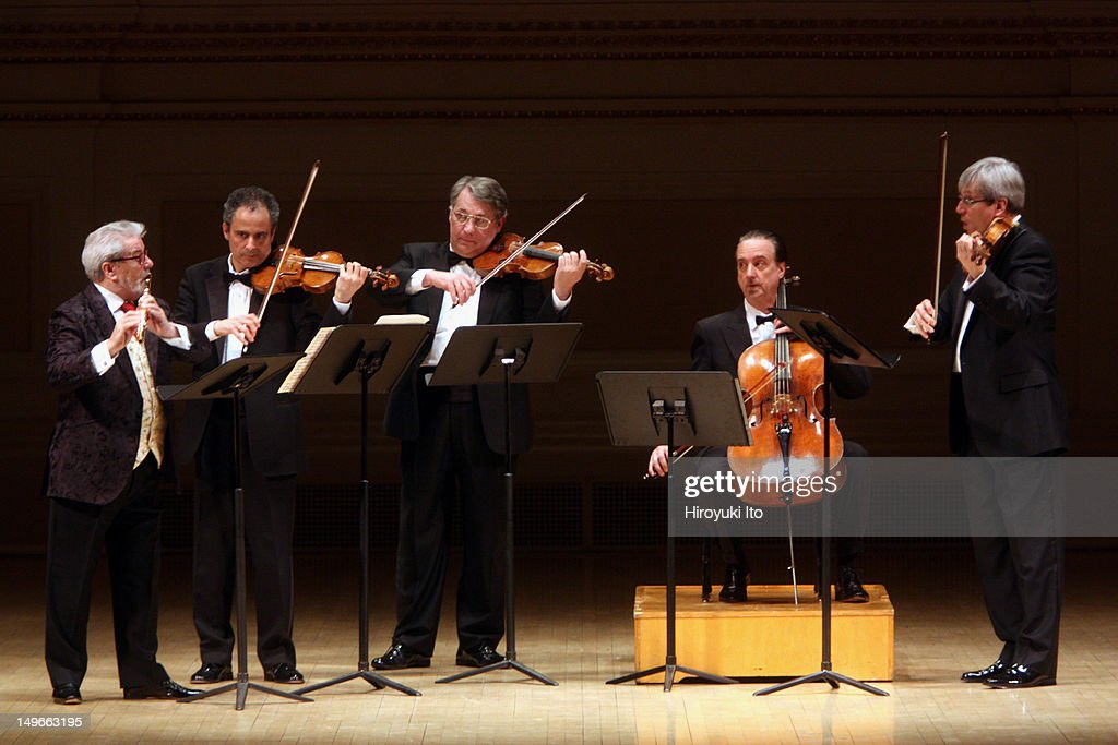 Sir James Galway and the Emerson String Quartet at Carnegie Hall on