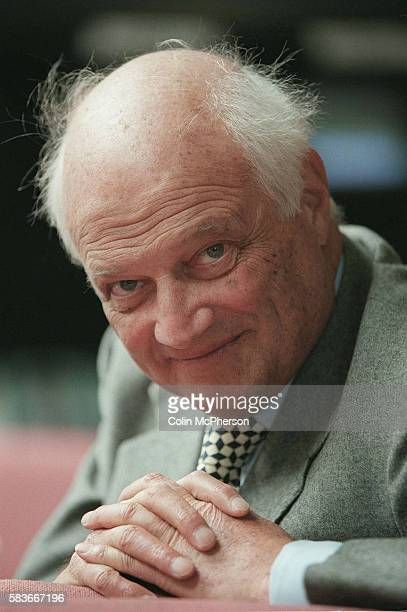 Sir James Goldsmith in his dressing room at the BBC in London prior to an appearance on a political show Goldsmith was born in 1933 and became a...