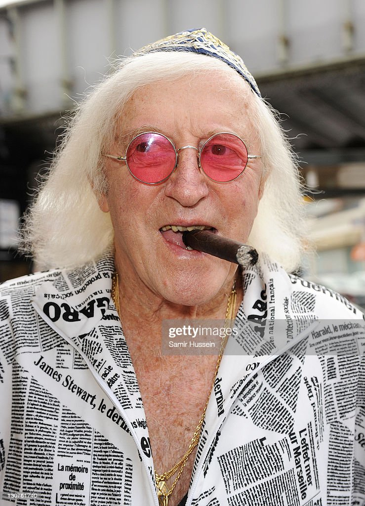 (FILE) DJ And Broadcaster Sir Jimmy Savile Dies At 84 : News Photo