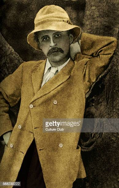 Sir J.M. Barrie. Scottish playwright and novelist. James Matthew Barrie: 9 May 1860 - 19 June 1937.