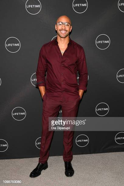 Sir John attends Cocktails and a Conversation with the Stars of Lifetime's 'American Beauty Star' featuring host and executive producer Ashley Graham...