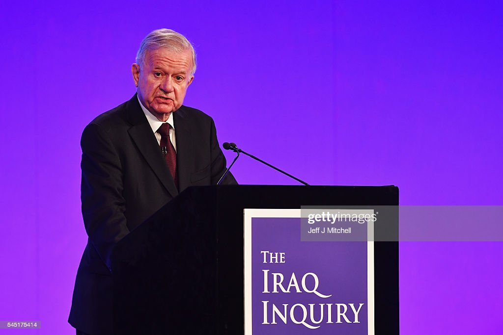 Sir John Chilcot Delivers The Iraq Inquiry Report : News Photo