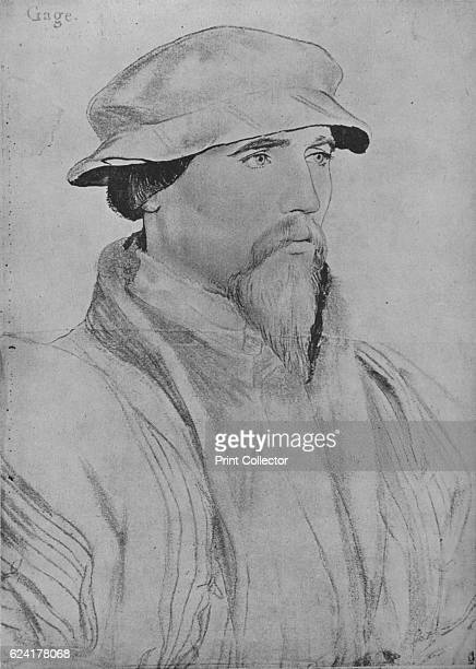 Sir John Gage', c1532-1543 . Sir John Gage KG was an English courtier during the Tudor period. He held a number of offices, including Chancellor of...