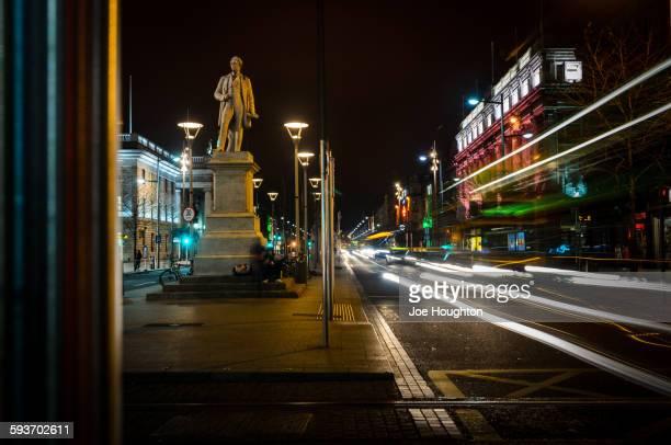 Sir John Gray statue, O'Connell street, Dublin