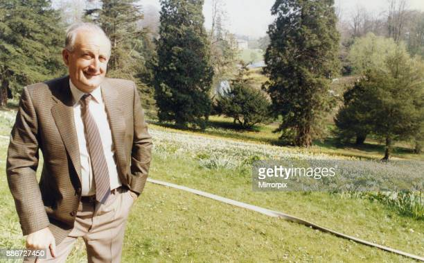 Sir John Hall property developer and life president and former chairman of Newcastle United football club pictured at Wynyard Hall Estate County...