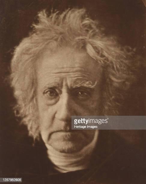 Sir John Herschel, 1867. Artist Julia Margaret Cameron.