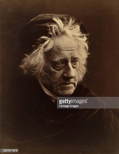 Sir John Herschel, April 1867. Artist Julia Margaret Cameron.