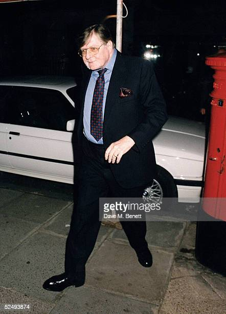 Sir John Paul Getty on July 1 1992 in London