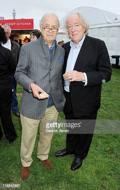 Sir John Standing and Sir Michael Gambon attend a Preview Night of the Taste of London at The LaurentPerrier Secret Garden in Regent's Park on June...