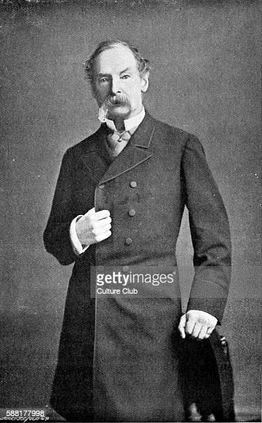 Sir John Tenniel portrait British illustrator graphic humorist and political cartoonist Illustrated Lewis Carrol l's Alice 's Adventures in...