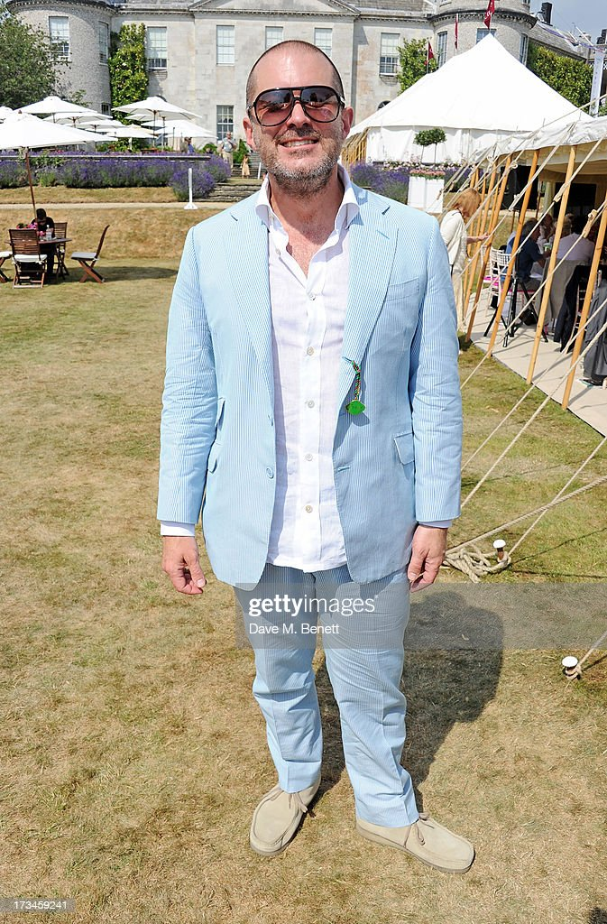Sir Jonathan Ive attends the Cartier Style & Luxury Lunch at the Goodwood Festival of Speed on July 14, 2013 in Chichester, England.