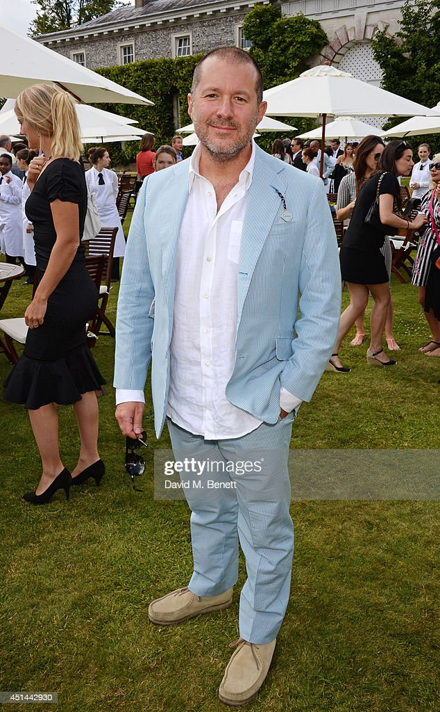 Sir Jonathan Ive attends the Cartier Style & Luxury Lunch at the Goodwood Festival of Speed on June 29, 2014 in Chichester, England.