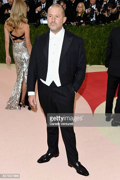 Sir Jonathan Ive attends the Manus x Machina Fashion In An Age Of Technology Costume Institute Gala at Metropolitan Museum of Art on May 2 2016 in...