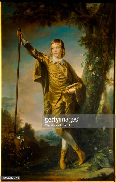 Sir Joshua Reynolds Master Thomas Lister 1764 Oil on canvas 231 x 147 m Bradford Art Galleries and Museums