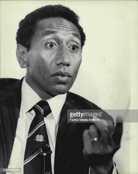 Sir Julius Chan The Prime Minister of Papua New Guinea Sir Julius Chan picture at a news conference today July 18 1980