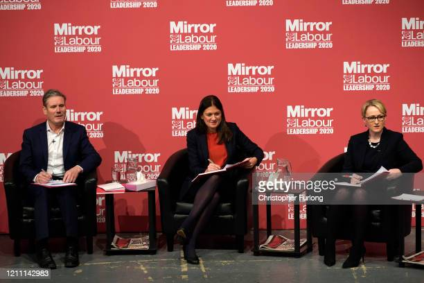 Sir Keir Starmer Shadow Secretary of State for Exiting the European Union Lisa Nandy MP for Wigan and Rebecca LongBailey Shadow Secretary of State...