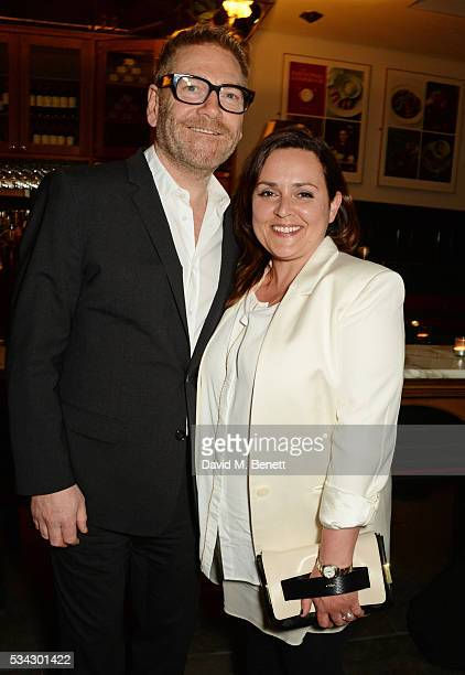 "Sir Kenneth Branagh and wife Lindsay Brunnock attend the press night after party for The Kenneth Branagh Theatre Company's ""Romeo And Juliet"" at The..."
