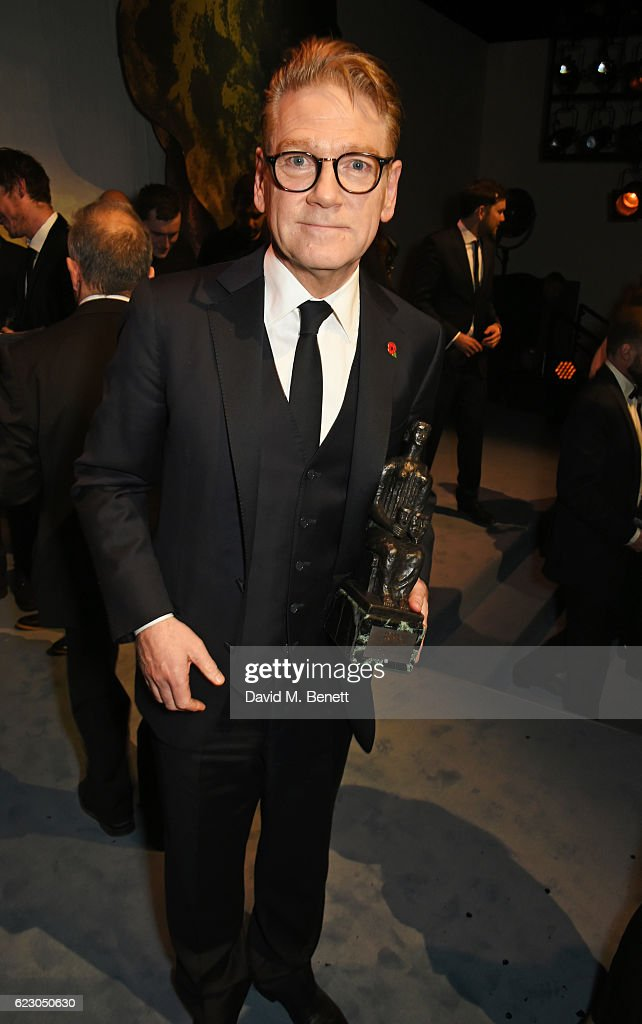 Sir Kenneth Branagh attends The 62nd London Evening Standard Theatre Awards after party, recognising excellence from across the world of theatre and beyond, at The Old Vic Theatre on November 13, 2016 in London, England.