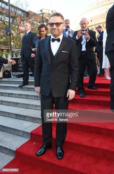 Sir Kenneth Branagh attends The Olivier Awards 2017 at Royal Albert Hall on April 9 2017 in London England