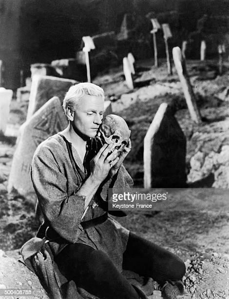 Sir Laurence Olivier in 'Hamlet' 1948 in United Kingdom