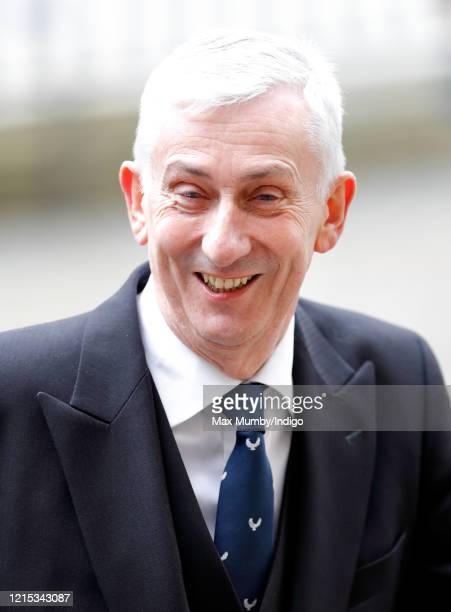 Sir Lindsay Hoyle Speaker of the House of Commons attends the Commonwealth Day Service 2020 at Westminster Abbey on March 9 2020 in London England...