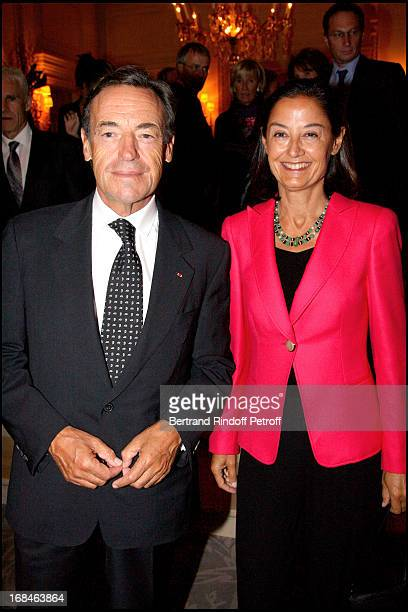 Sir Lindsay Owen Jones and Lady Christina at Premiere Of Film 'Faubourg 36' At Ugc Normandie In Benefit Of Claude Pompidou Foundation