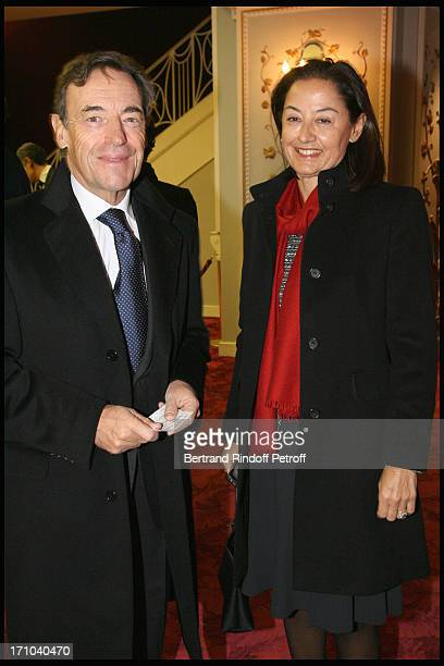 Sir Lindsay Owen Jones and wife Lady Cristina at The Gala Evening In Aid Of La Maison De Solenn At The Theatre Marigny Followed By A Dinner At...