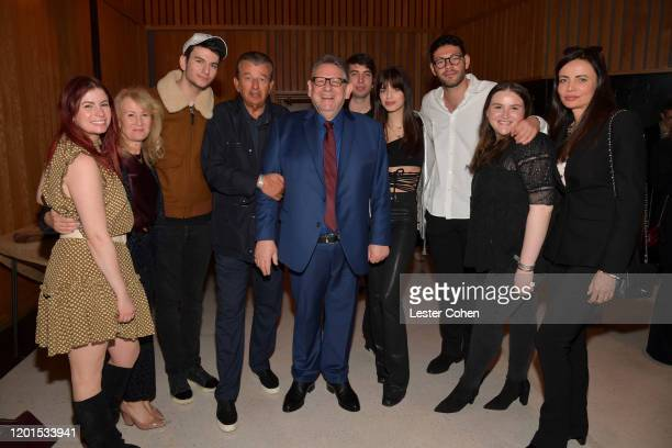 Sir Lucian Grainge attends Sir Lucian Grainge Honored with Star on the Hollywood Walk of Fame at Hollywood Walk Of Fame on January 23, 2020 in...