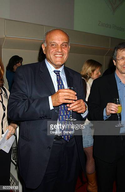 Sir Magdi Yacoub attends the Chain Of Hope auction and party in aid of heart surgeon Professor Sir Magdi Yacoub's charity at Sketch on February 21...