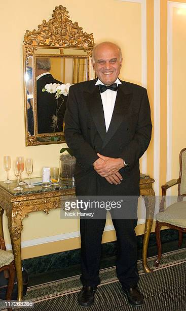 Sir Magdi Yacoub during Chain of Hope Autumn Ball at Dorchester Hotel in London Great Britain