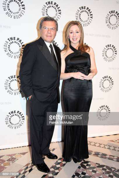 Sir Martin Sorrell and Becky Quick attend The Paley Center for Media's Annual Gala Honors KEN LOWE SIR MARTIN SORRELL with special performance by...
