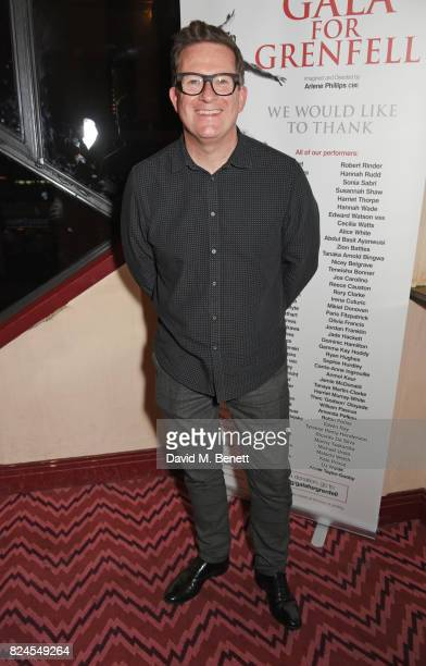 Sir Matthew Bourne attends a drinks reception celebrating 'Gala For Grenfell' a special gala bringing together a host of the world's leading dancers...