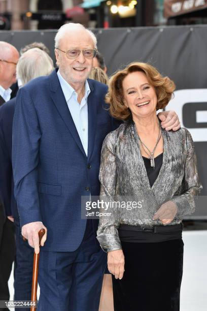 Sir Michael Caine and Francesca Annis attend the World Premiere of 'King Of Thieves' at Vue West End on September 12, 2018 in London, England.