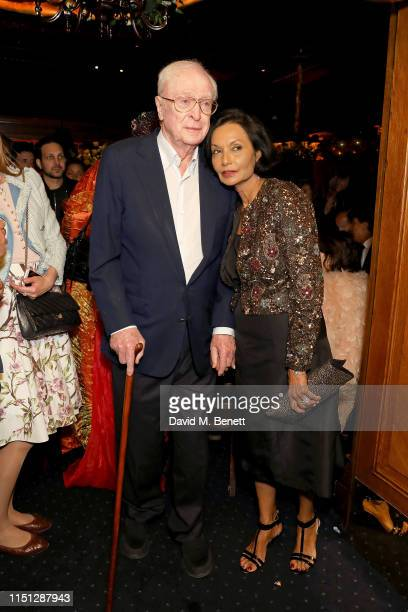 Sir Michael Caine and Shakira Caine attend the 50th Anniversary of Tramp on May 23, 2019 in London, England.