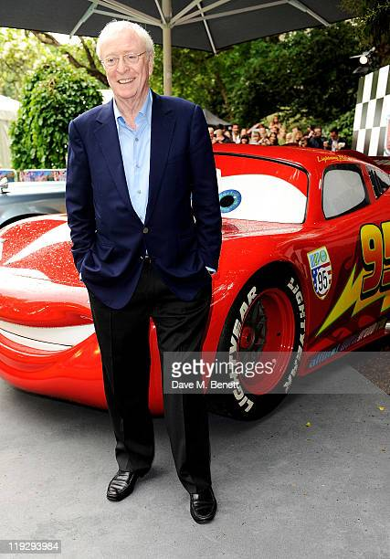 Sir Michael Caine attends a preparty celebrating the UK Premiere of CARS 2 at Whitehall Gardens on July 17 2011 in London England