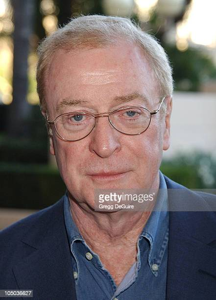 Sir Michael Caine during The 9th Annual BAFTA/LA Tea Party at Park Hyatt Hotel in Los Angeles, California, United States.