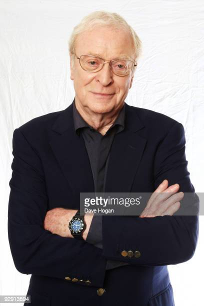 Sir Michael Caine poses for portraits to promote his new film 'Harry Brown' on October 7 2009 in London England The film is released nationwide on...