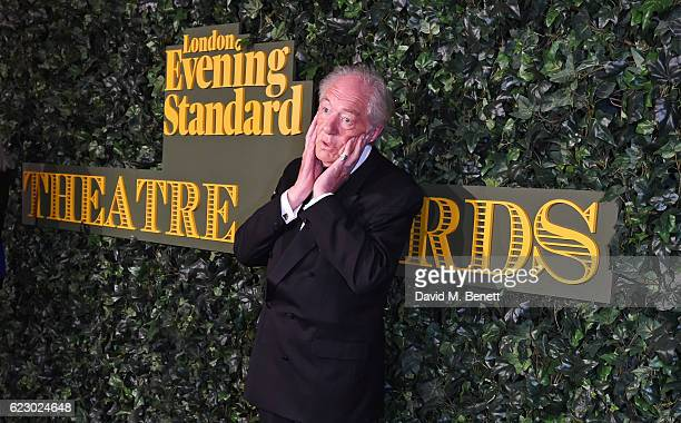 Sir Michael Gambon arrives at The 62nd London Evening Standard Theatre Awards recognising excellence from across the world of theatre and beyond at...