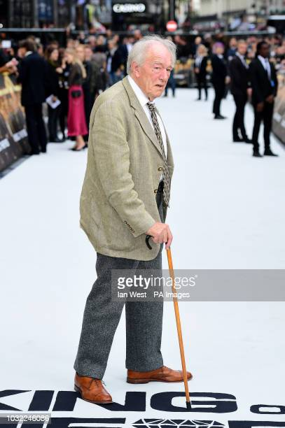 Sir Michael Gambon arriving for the King of Thieves World Premiere held at Vue West End Leicester Square London PRESS ASSOCIATION Photo Picture date...