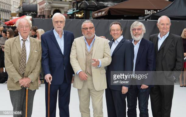 Sir Michael Gambon Sir Michael Caine Ray Winstone Paul Whitehouse Sir Tom Courtenay and Jim Broadbent attend the World Premiere of 'King Of Thieves'...