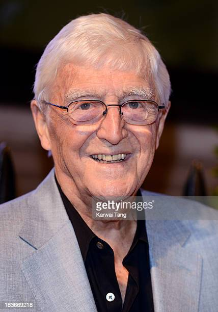 Sir Michael Parkinson attends a gala dinner hosted by the BFI ahead of the London Film Festival at 8 Northumberland Avenue on October 8 2013 in...
