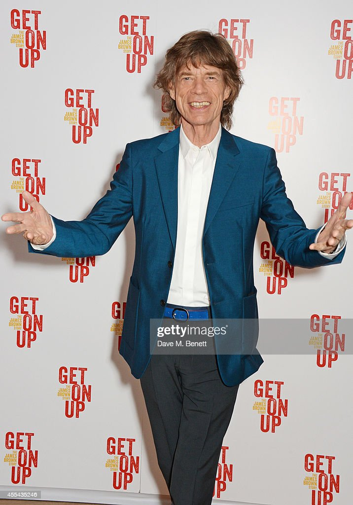 Sir Mick Jagger attends a special screening of 'Get On Up' at The Ham Yard Hotel on September 14, 2014 in London, England.