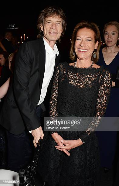 Sir Mick Jagger attends the BFI London Film Festival IWC Gala Dinner in honour of the BFI at Battersea Evolution Marquee on October 7 2014 in London...