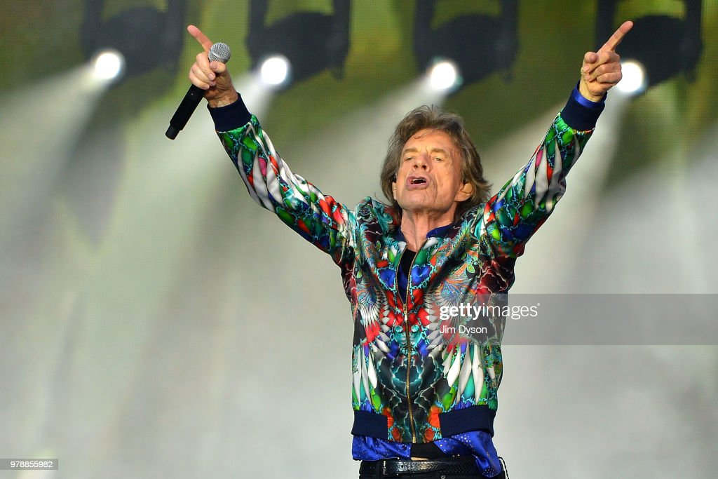 Rolling Stones Perform At Twickenham Stadium