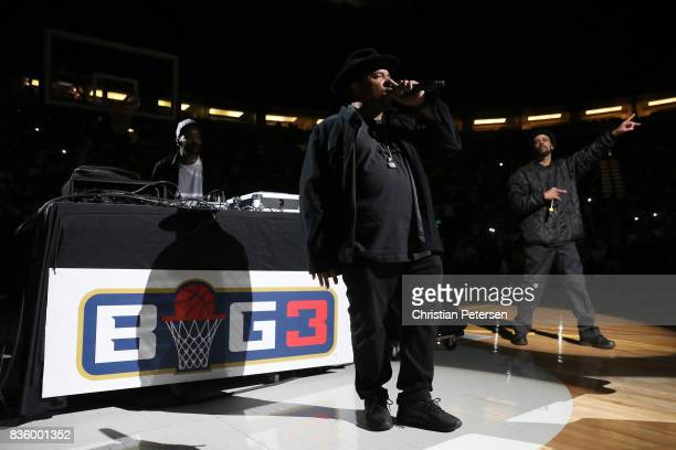 Sir MixALot performs during week nine of the BIG3 threeonthree basketball league at KeyArena on August 20 2017 in Seattle Washington