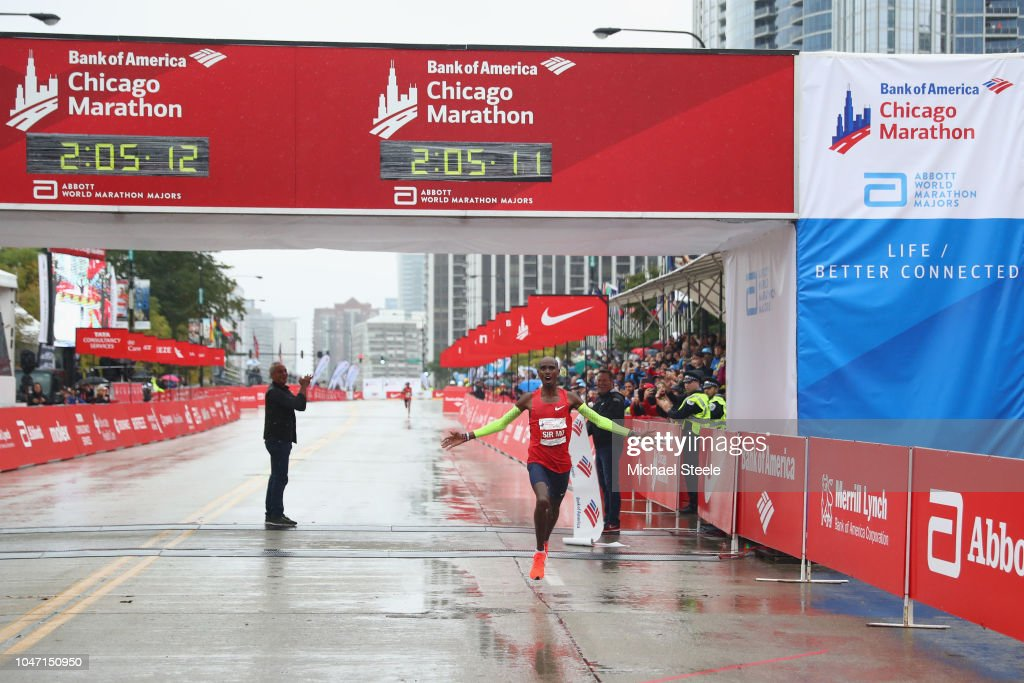 2018 Bank of America Chicago Marathon : News Photo