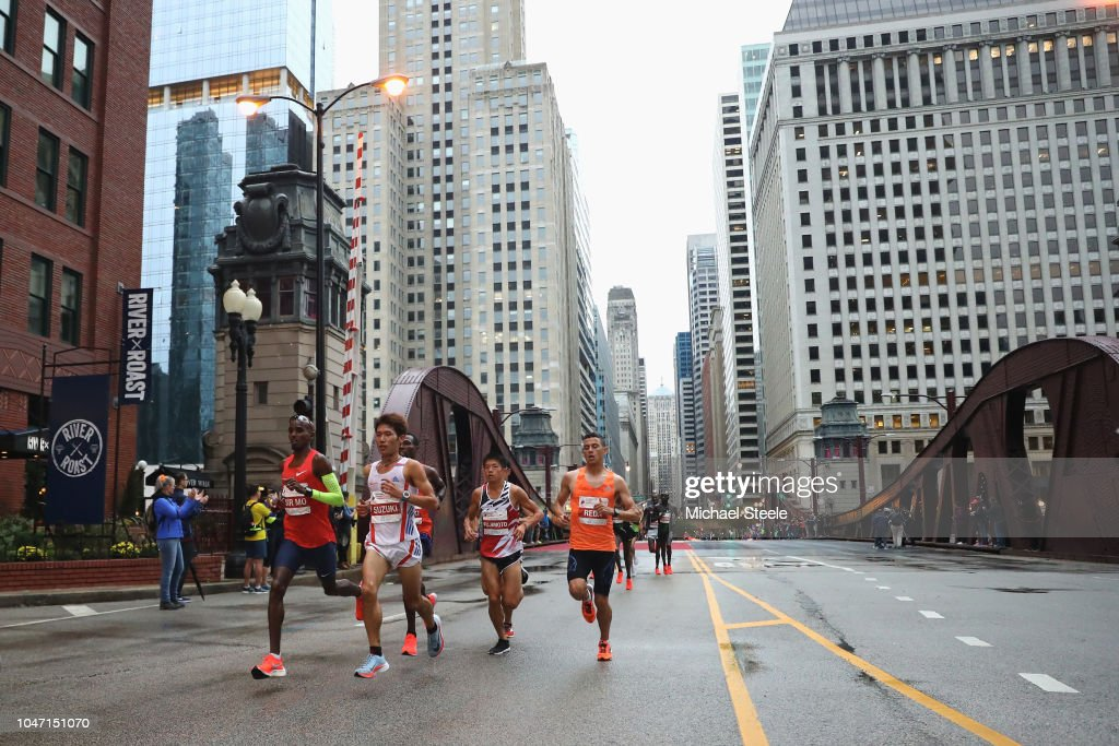 2018 Bank of America Chicago Marathon : News Photo