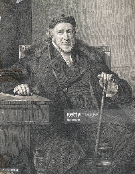 Sir Moses Montefiore the old man beneficent Engraving from a portrait by G Richmond